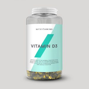 Vitamina D3 in Capsule