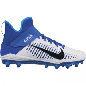 Nike Alpha Pro Mid 2 plastic cleats | Royal