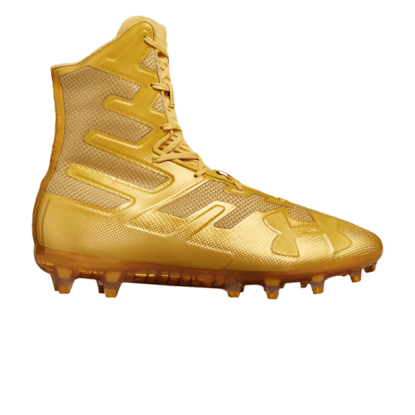 Under Armour Highlight MC rubber Cleats | Gold