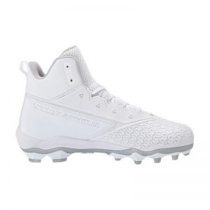 Under Armour Hammer Mid MC rubber Cleats | White