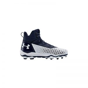 Under Armour Hammer Mid MC rubber Cleats | Navy