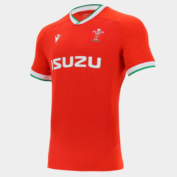 maglia rugby wales 20 21 home