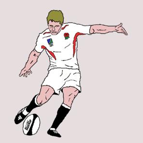 Koolbe rugby t-shirts That drop goal 5