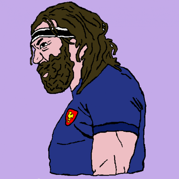 Koolbe rugby t-shirts The Caveman 5