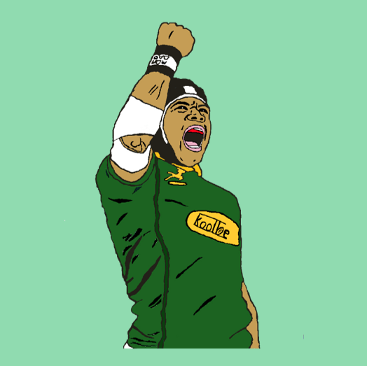 Koolbe rugby t-shirts The Scream by Cheslin 5