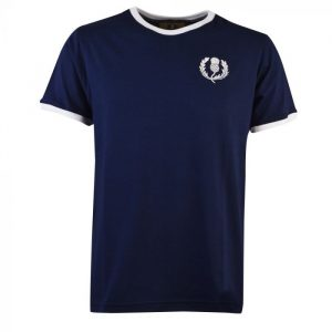 Scotland Rugby Vintage T-Shirt Navy