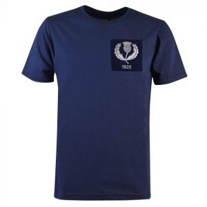 Scotland Thistle 1925 Rugby Vintage T-Shirt Navy