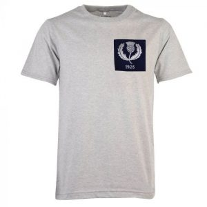 Scotland Thistle 1925 Rugby Vintage T-Shirt Grey